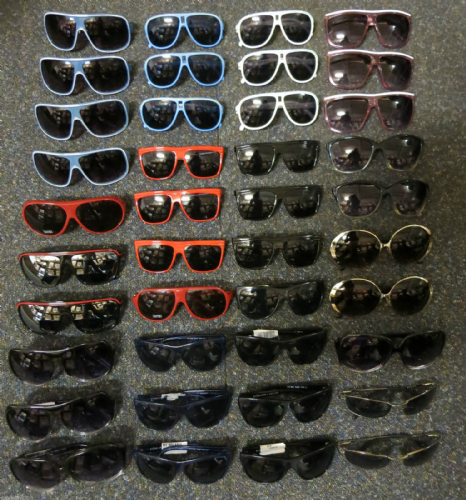 Joblot 40 x Solaris, UV Protective Cat 3/4 Adult Designer Sunglasses
